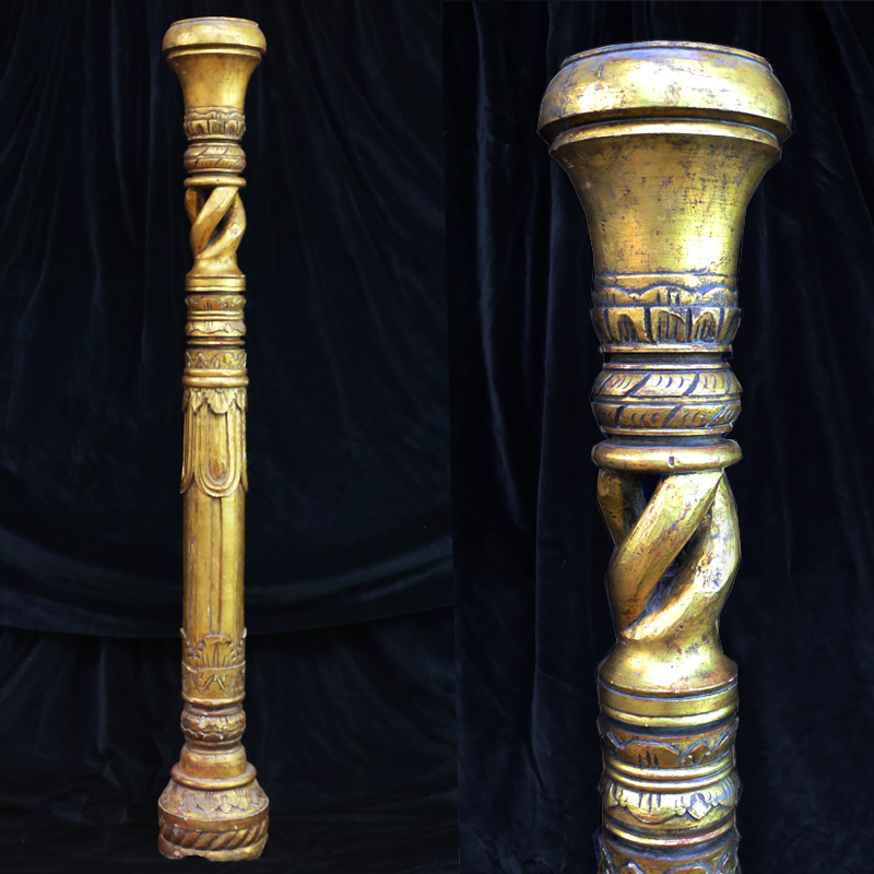 Ornate Gold Column