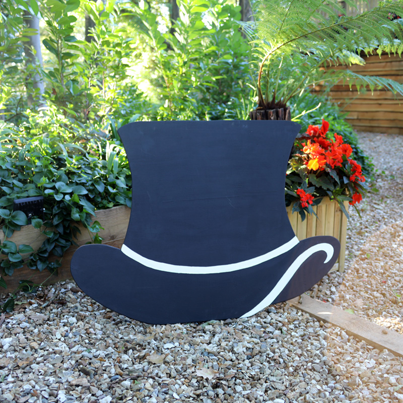 Giant Top Hat Chalkboard