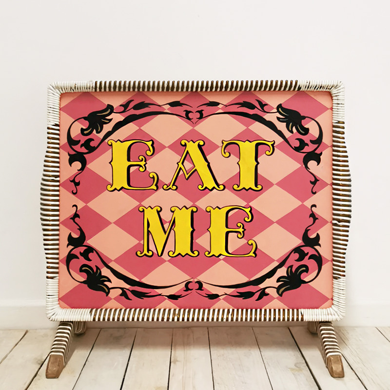 Eat Me Sign