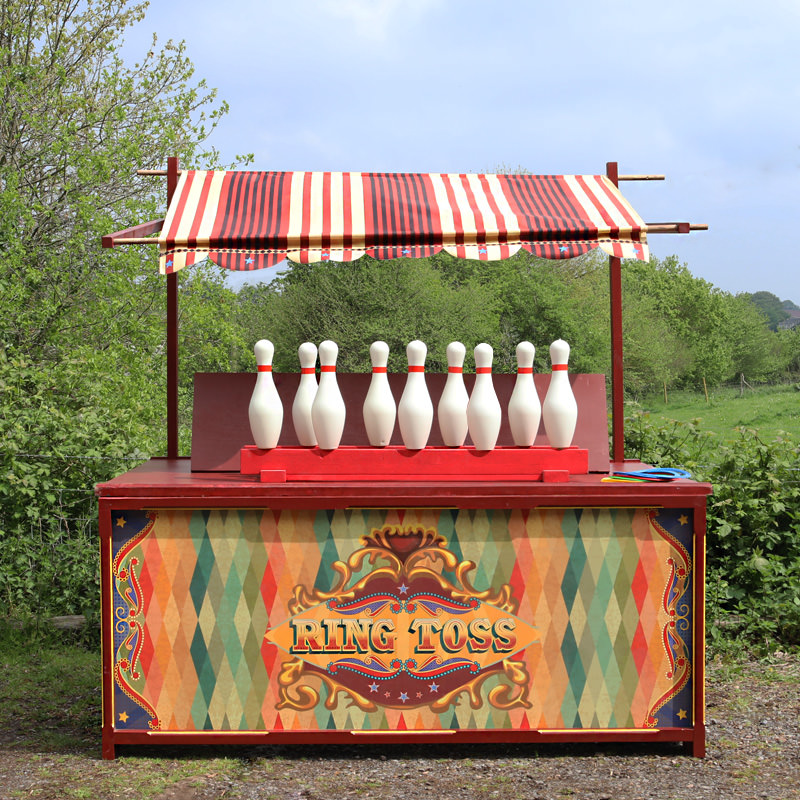 Edwardian Style Ring Toss Stall