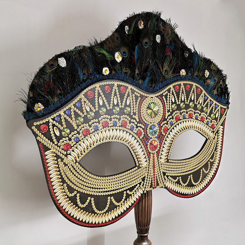 Giant Masquerade Mask Prop