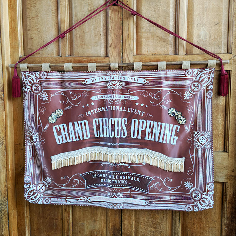 Grand Opening Canvas Poster