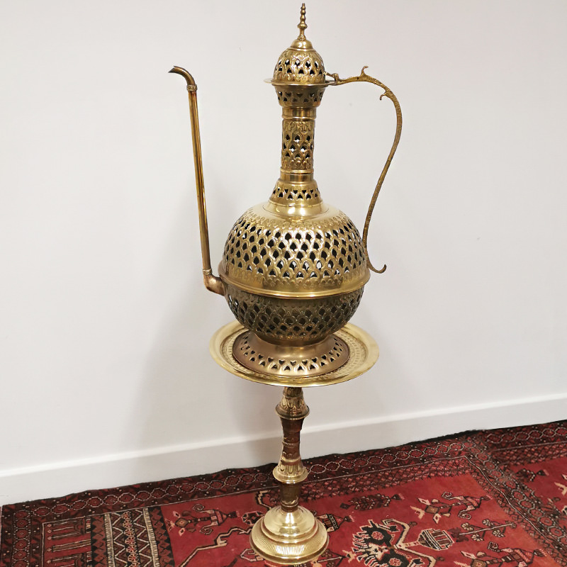 Huge Brass Ornamental Teapot