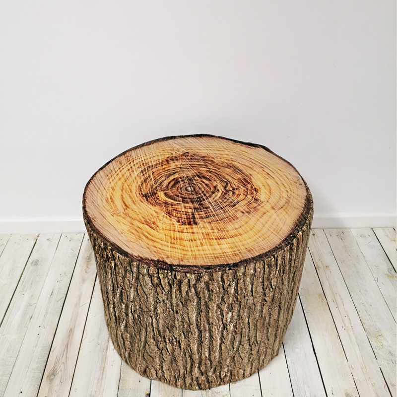 Large Log Stool
