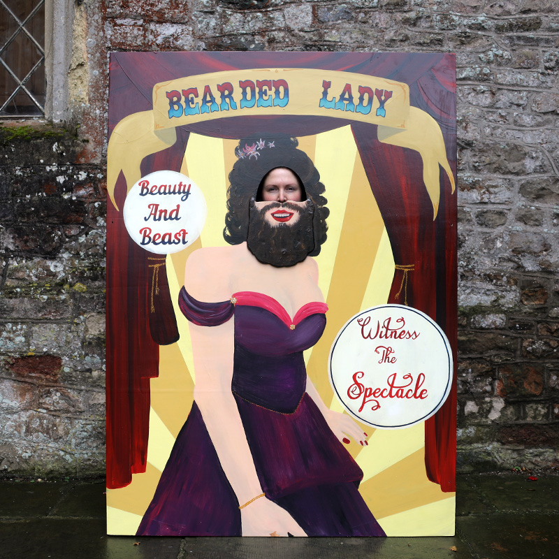 Bearded Lady Peep Board