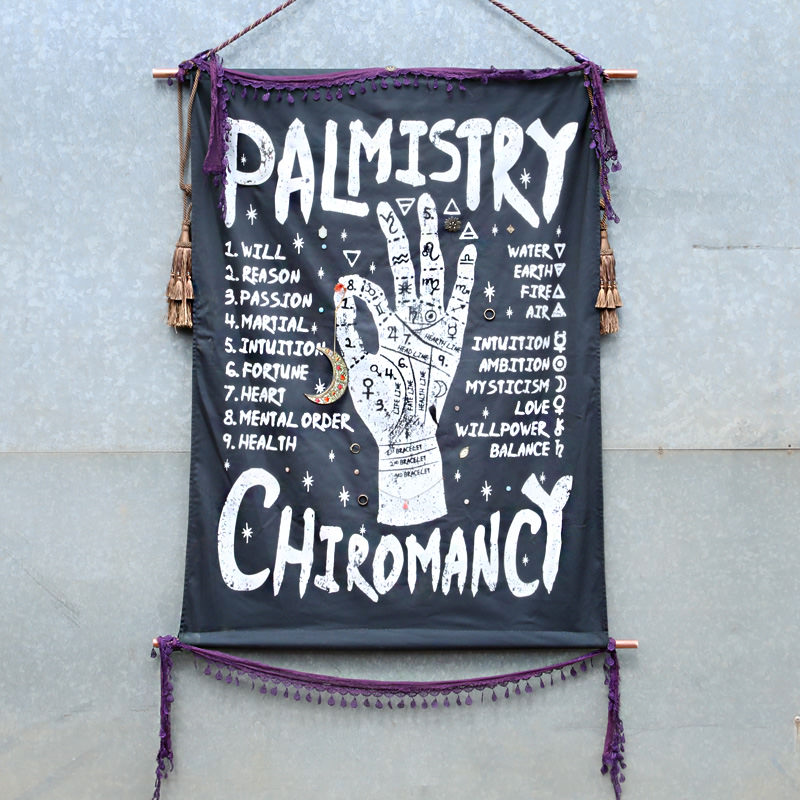 Palmistry Canvas Poster