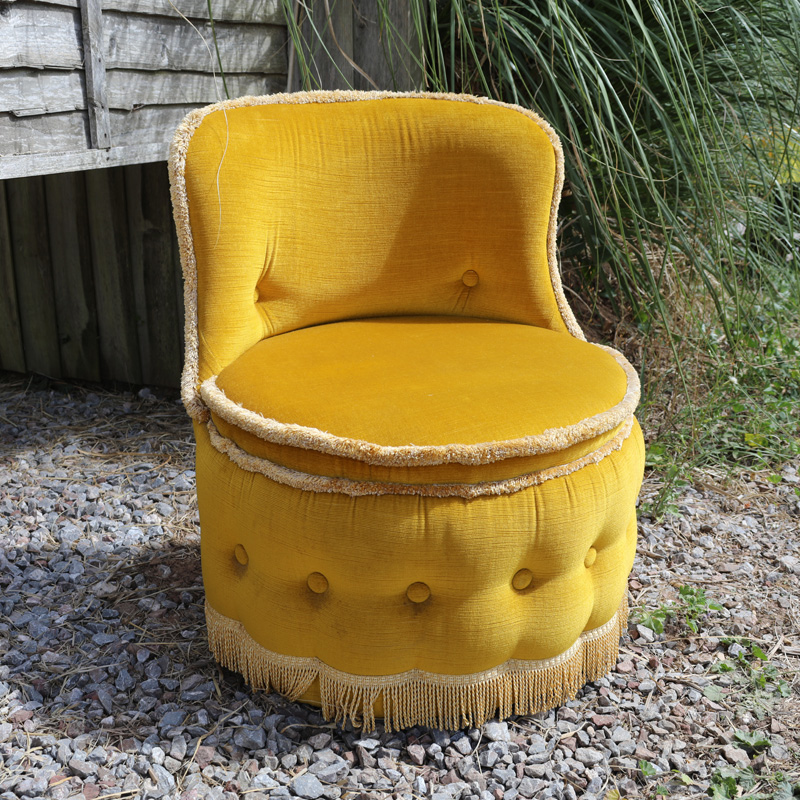 Mustard Tub Chair
