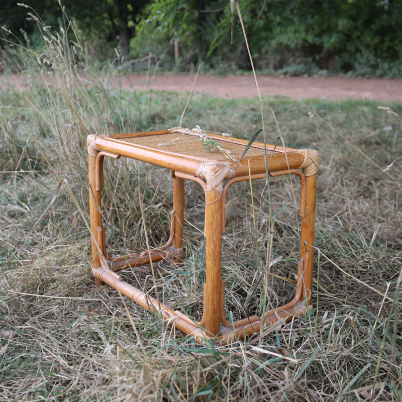 Rattan Rectangle Side Table