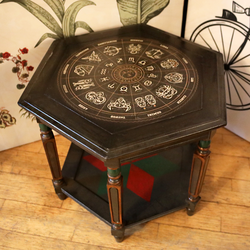 Hexagonal Astrology Table