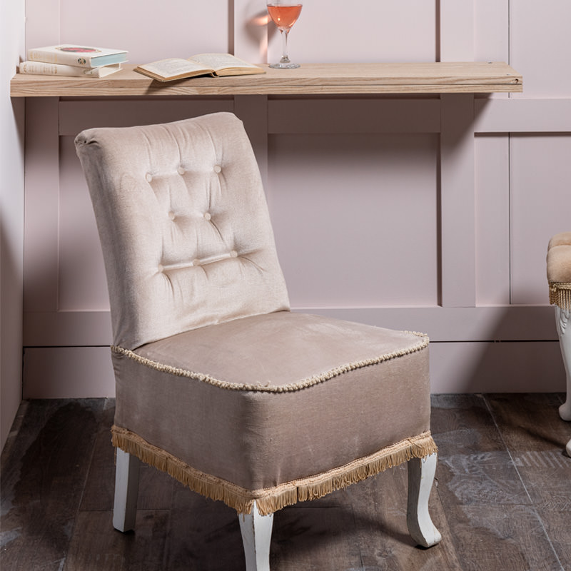 Very Pale Lilac Emily Nursing Chair
