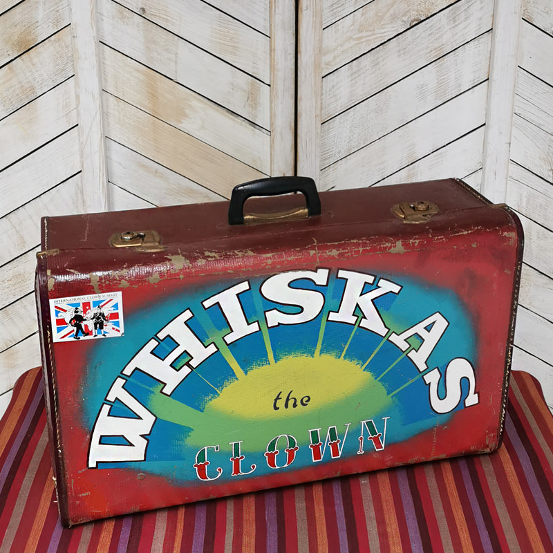 Whiskas the Clown Real Clown Suitcase