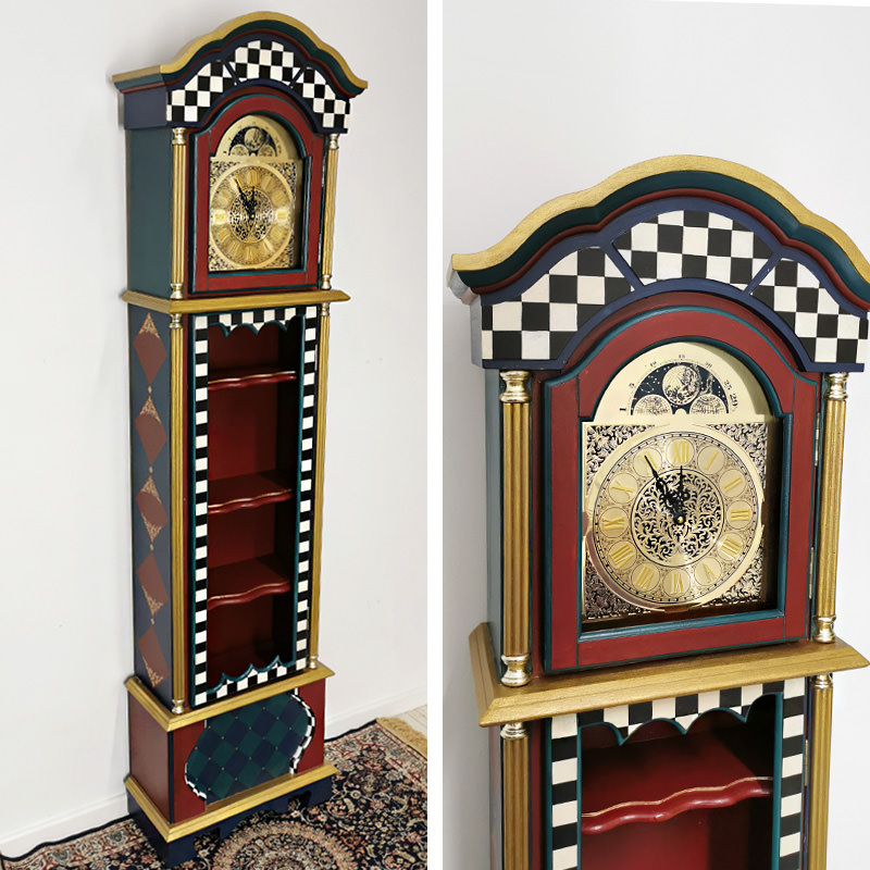 Wonderland Grandfather Clock
