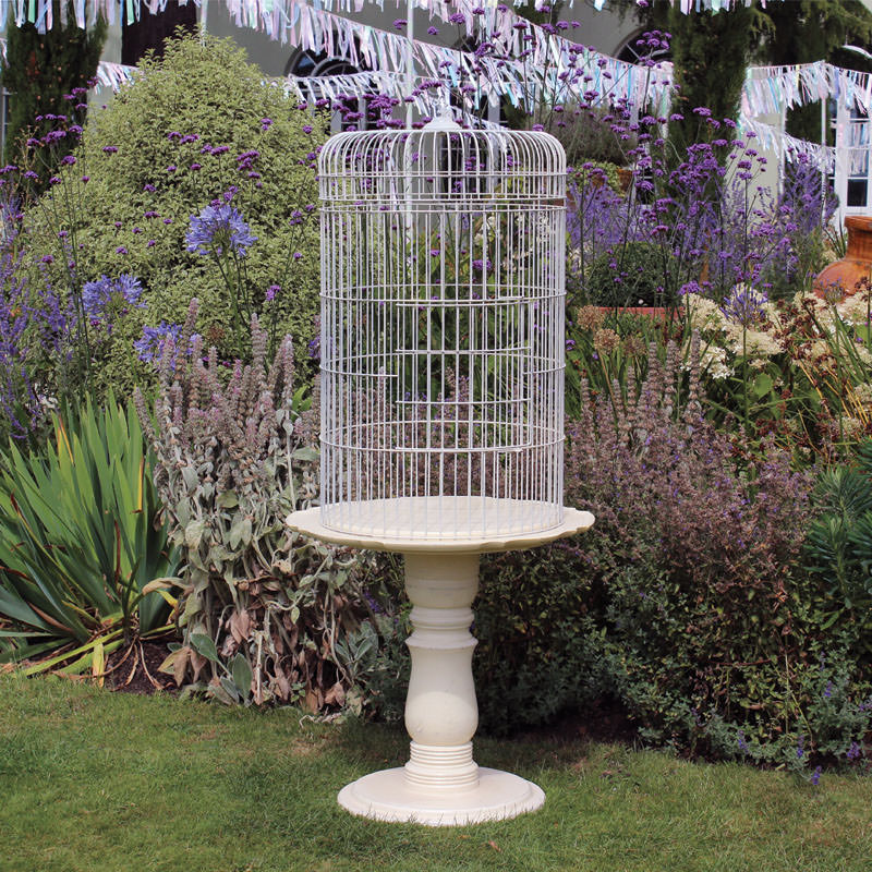 Giant Bird Cage Card Stand