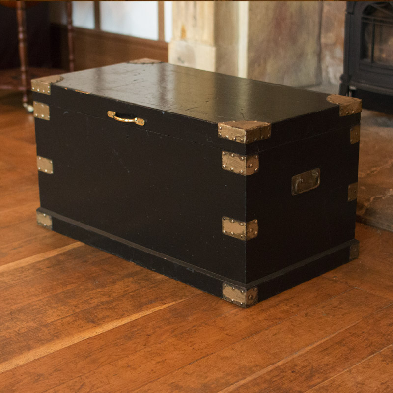 Gold and Black Trunk  1
