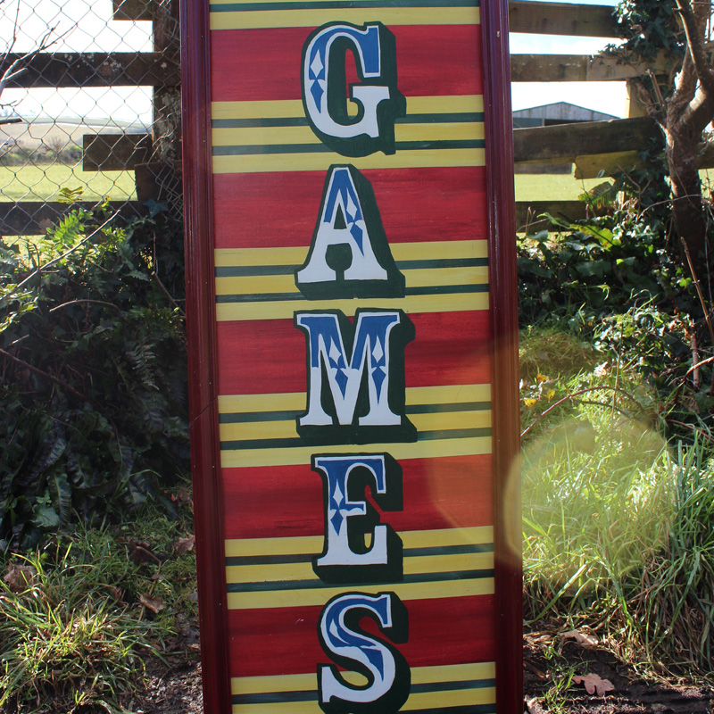 Games Arrow Sign 3