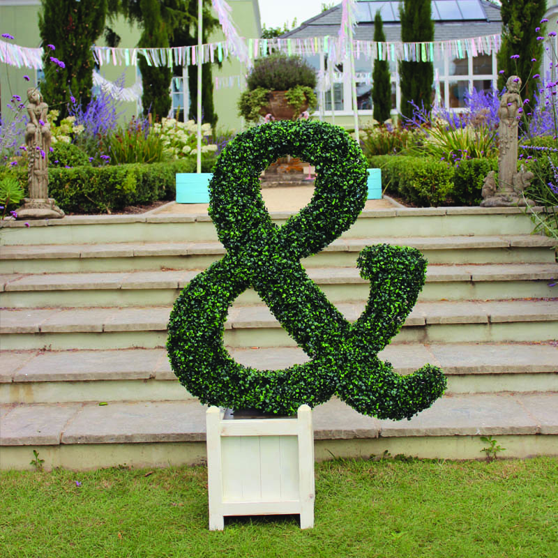 Topiary Ampersand