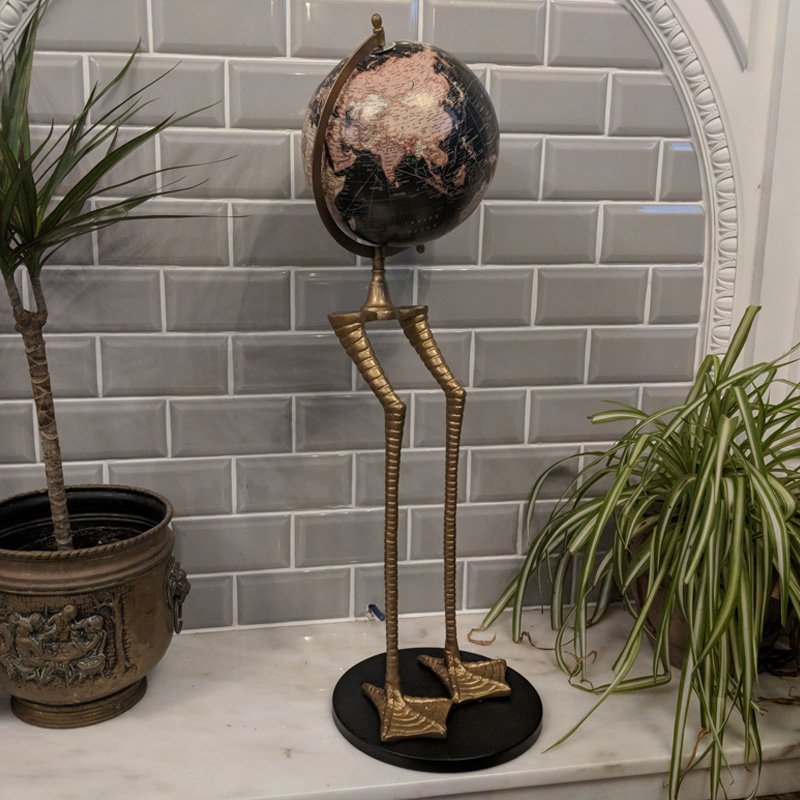 Flamingo Legged Globe