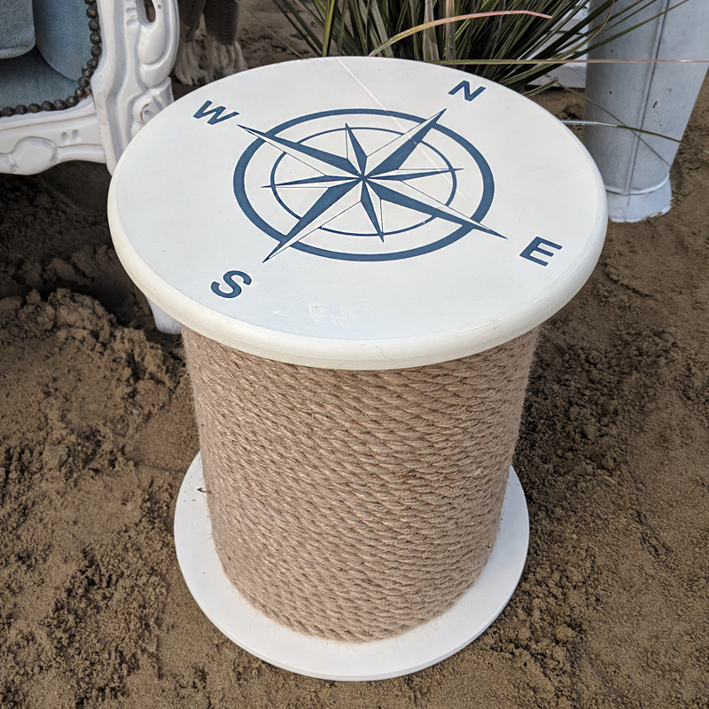 Small Nautical Side Table