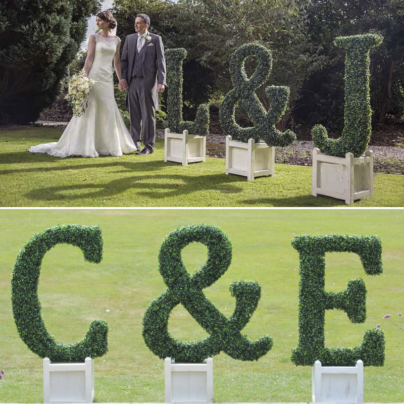 Topiary Hedge Letter