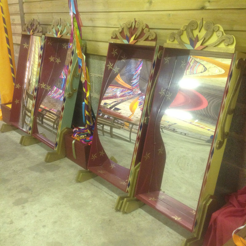 Embellished Crazy Mirrors