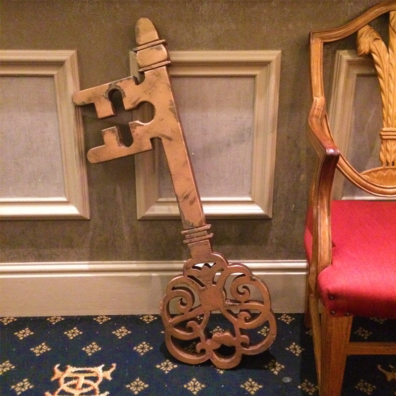 Giant Ornate Key