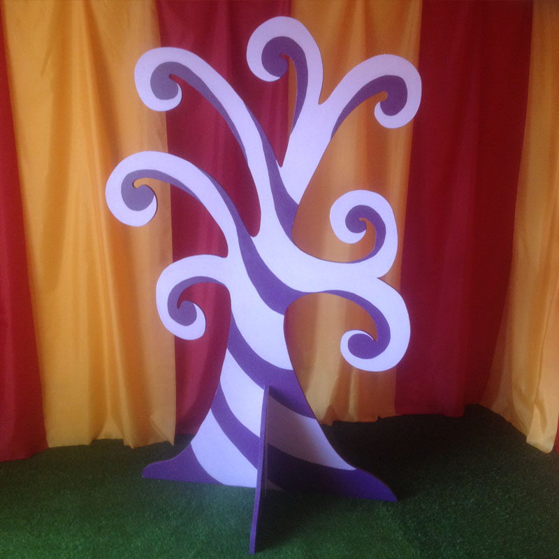 Purple Swirl Tree