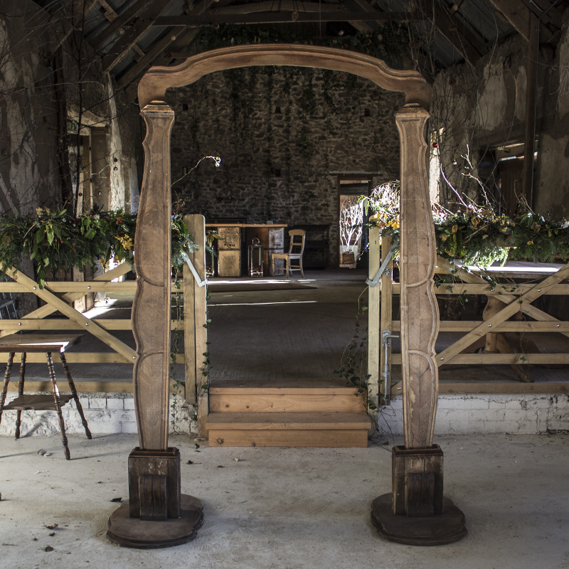 Decorative Rustic Wooden Arch