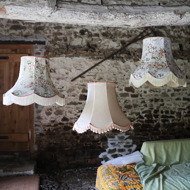 Pretty Floral and Pastel Large Lampshades