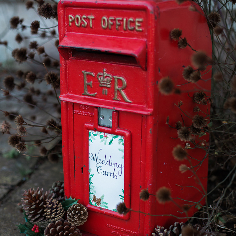 Red RM Postbox