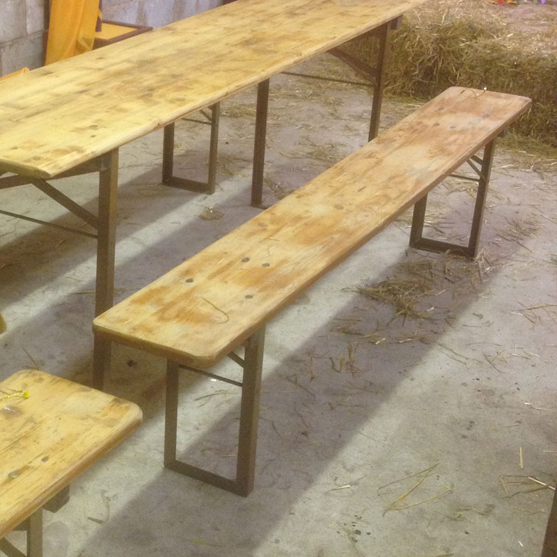 Rustic Long Bench