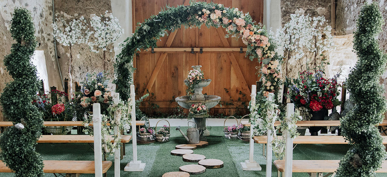 Enchanted Arch & Decoration
