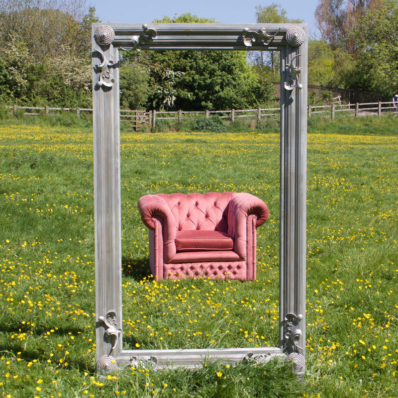 Giant Silver Frame