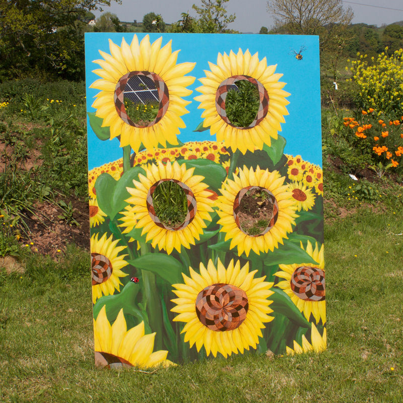 Sunflower Peep Board