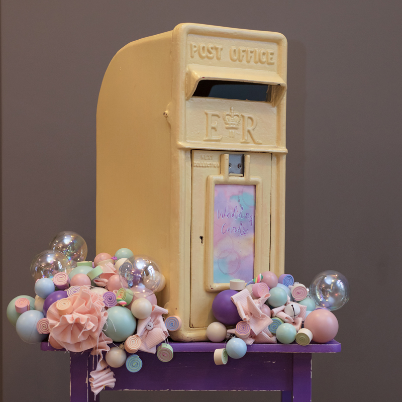 Pale Yellow RM Postbox