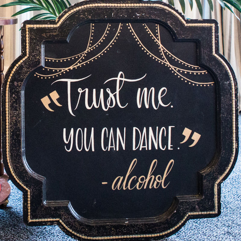 You Can Dance Sign